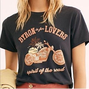 Tops - Byron is for Lovers Moto Tee